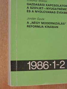 Érsek László - Politika-Tudomány 1986/1-2. [antikvár]