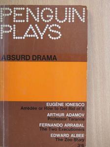 Arthur Adamov - Absurd Drama [antikvár]