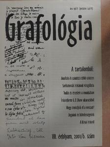 Kisné Szabó Gabriella - Grafológia 2001. június [antikvár]