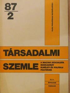 Benkő Judit - Társadalmi Szemle 1987. február [antikvár]