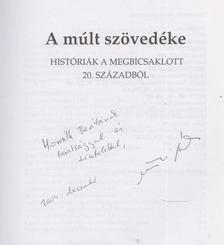 Murányi Gábor - A múlt szövedéke (Dedikált) [antikvár]