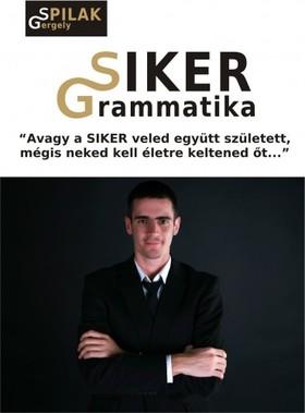 Spilák Gergely - SIKER Grammatika - avagy a SIKER veled együtt született mégis neked kell életre keltened őt [eKönyv: epub, mobi]
