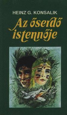 Heinz G. Konsalik - Az őserdő istennője [antikvár]