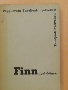Papp István - Finn nyelvkönyv [antikvár]