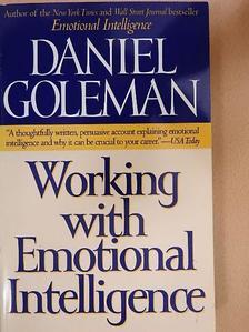 Daniel Goleman - Working with Emotional Intelligence [antikvár]