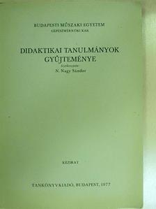 Dr. Ballér Endre - Didaktikai tanulmányok gyűjteménye [antikvár]