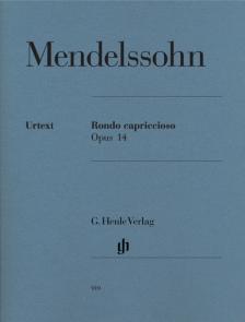 MENDELSSOHN - RONDO CAPRICCIOSO OP.14 FÜR KLAVIER URTEXT (SCHEIDELER/THEOPOLD)