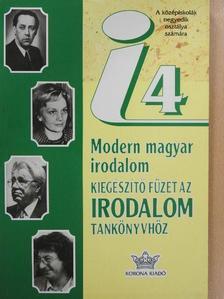 Balassa Péter - Modern magyar irodalom [antikvár]