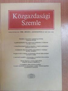 Csikós-Nagy Béla - Közgazdasági Szemle 1985. július-augusztus [antikvár]