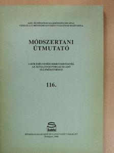 Balázs Zsoltné - Módszertani útmutató 116. [antikvár]