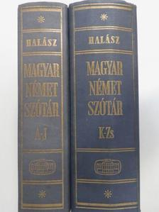 Halász Előd - Magyar-német szótár I-II. [antikvár]