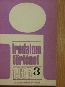 Bácskai Mihályné - Irodalomtörténet 1985/3. [antikvár]