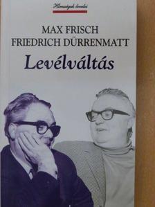 Friedrich Dürrenmatt - Levélváltás [antikvár]