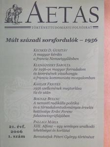 Apor Balázs - Aetas 2006/1. [antikvár]
