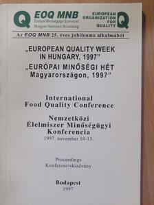 """Alfred Wiesenberger - """"Európai Minőségi Hét Magyarországon, 1997"""" [antikvár]"""