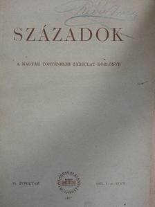 Balázs Béla - Századok 1957/1-4. [antikvár]
