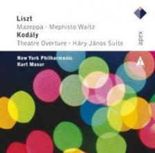 LISZT/KODÁLY - MAZEPPA/MEPHISTO WALTZ/THEATRE OVERTURE/HÁRY JÁNOS SUITE CD MASUR