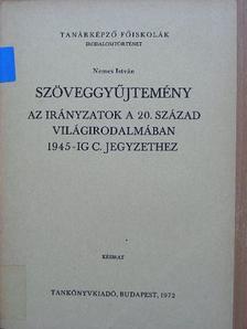 André Breton - Szöveggyűjtemény Az irányzatok a 20. század világirodalmában 1945-ig c. jegyzethez [antikvár]