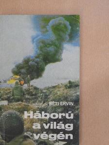 Réti Ervin - Háború a világ végén [antikvár]