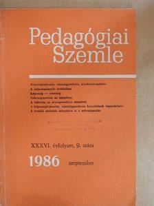 A. A. Frolov - Pedagógiai Szemle 1986. szeptember [antikvár]