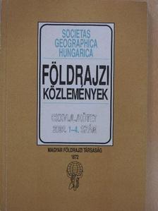 Csekő Árpád - Földrajzi Közlemények 2002/1-4. [antikvár]