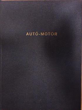 Csordás Lajos - Autó-Motor 1985. január-december [antikvár]