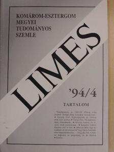 Albertini Béla - Limes 1994/4. [antikvár]
