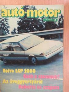 Almássy Tibor - Autó-Motor 1984. február [antikvár]
