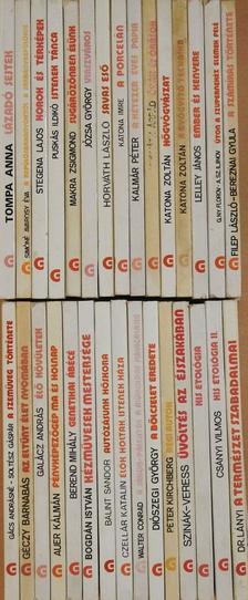 """A. Sz. Iljinov - """"30 kötet a Gondolat Zsebkönyvek sorozatból (nem teljes sorozat)"""" [antikvár]"""