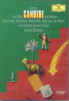BERNSTEIN - CANDIDE DVD / HADLEY, ANDERSON, LUDWIG, GREEN, GEDDA, JONES, OLLMANN