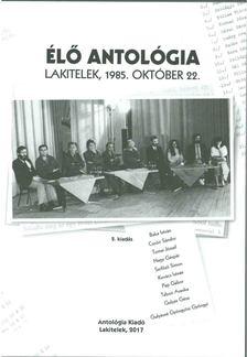 Agócs Sándor - Élő antológia - CD-vel [antikvár]