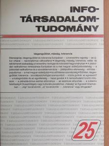 Dobossy László - Info-Társadalomtudomány 1993. július [antikvár]