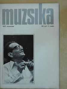 Bónis Ferenc - Muzsika 1977. november [antikvár]
