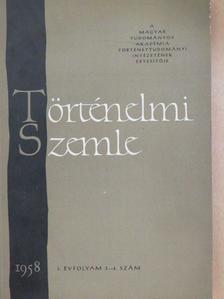 Bartha Antal - Történelmi Szemle 1958/3-4. [antikvár]