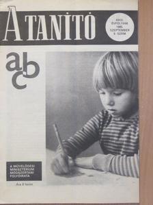 Balogh Viktória - A Tanító 1985. szeptember [antikvár]