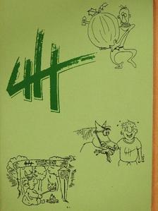 Bényei Sándor - 4 H [antikvár]