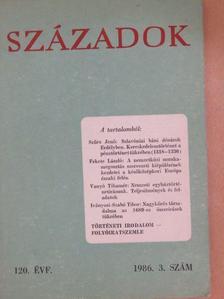 Fekete László - Századok 1986/3. [antikvár]