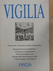 Balog Zoltán - Vigilia 1992. június [antikvár]