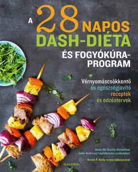 Andy De Santis, Julie Andrews - A 28 napos DASH-diéta és fogyókúraprogram