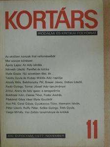 Abody Béla - Kortárs 1977. november [antikvár]