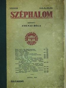 Ady Lajos - Széphalom 1928. január-december [antikvár]