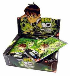 Bandai - Ben 10 gyűjthető kártya - kiegészítő csomag