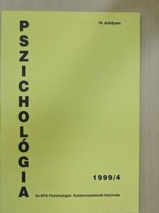 Csorba János - Pszichológia 1999/4. [antikvár]