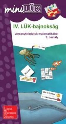 IV. LÜK-bajnokság - versenyfeladatok matematikából 3.
