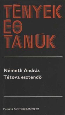 Németh András - Tétova esztendő [antikvár]