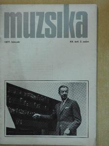 Berlász Melinda - Muzsika 1977. február [antikvár]