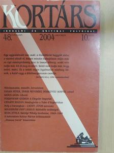 Bodor Béla - Kortárs 2004. október [antikvár]