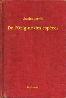 Charles Dickens - De l Origine des especes [eKönyv: epub, mobi]