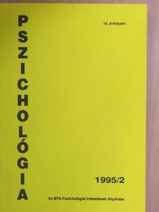 Dornai Erika - Pszichológia 1995/2. [antikvár]