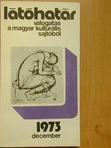 Almási Miklós - Látóhatár 1973. december [antikvár]